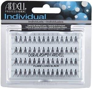 Ardell Duralash Flair Long Black Пучки ресниц длинные чёрные клей для ресниц темный lashgrip adhesive ardell