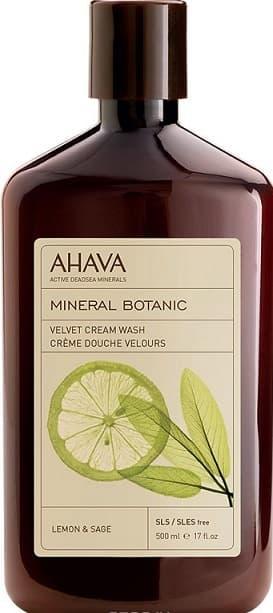 Ahava Бархатистое жидкое крем-мыло Лимон и шалфей Mineral Botanic, 500 мл sea of spa крем морковный универсальный 500 мл