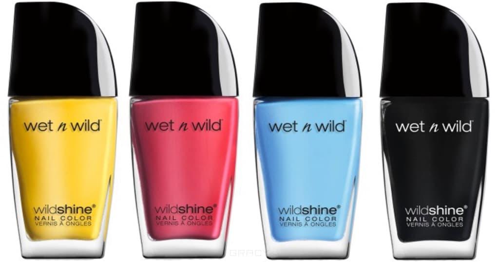 Wet n Wild - Лак для ногтей Wild Shine, 12,7 мл (16 тонов)