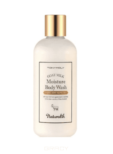 Tony Moly Гель для душа с козьим молоком Naturalth Goat Milk Moisture Body Wash, 300 мл лосьон tony moly body with moisture body lotion