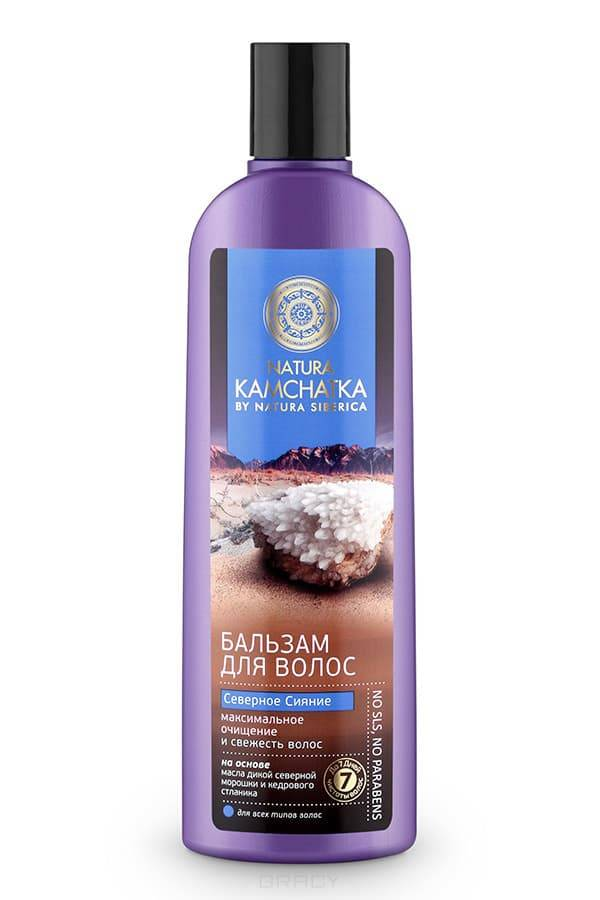 Natura Siberica Бальзам Северное сияние очищение и свежесть волос Kamchatka, 280 мл
