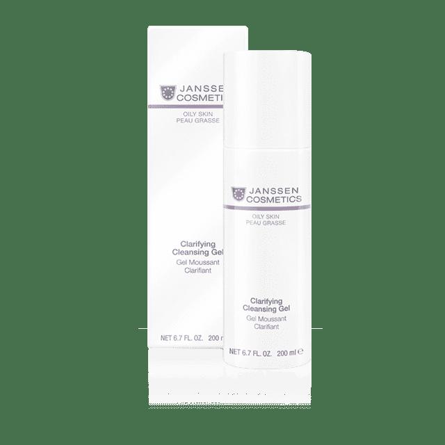 Janssen Очищающий гель Clarifying Cleansing Gel Oily Skin , 200 мл cleansing gel for oily combination skin 150 ml gel for oily skin skin cleansing anti wrinkle gess