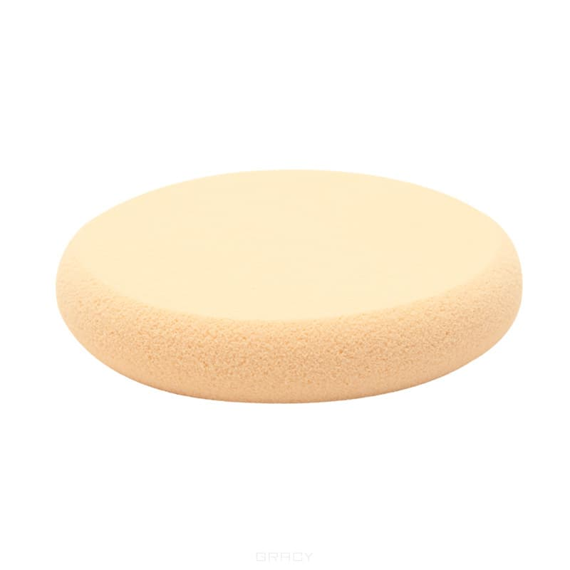 Planet Nails Спонж для нанесения макияжа утолщенный круглый, Спонж для нанесения макияжа утолщенный круглый, 1 шт оборудование для нанесения жидкой резины китай