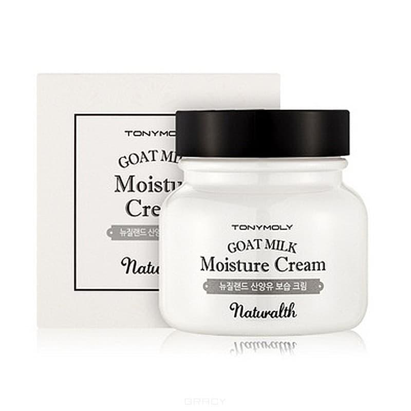 Tony Moly Крем увлажняющий на основе козьего молока Naturalth Goat Milk Moisture Cream, 60 мл