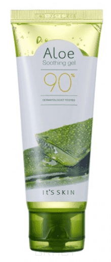 It's Skin Освежающий гель Алоэ вера 90% Aloe 90% Soothing Gel , 320 мл it s skin гель освежающий с алоэ aloe 90% soothing gel 320 мл
