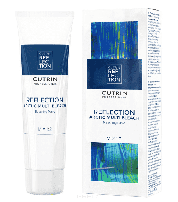 Cutrin - Обесцвечивающая паста Reflection Arctic Multi Bleach, 200 г