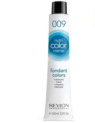 Revlon, Крем-краска 3 в 1 Nutri Color Creme, (29 оттенков) 009 Бирюзовый