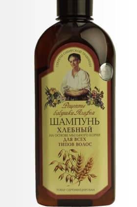 Рецепты бабушки Агафьи Шампунь Хлебный для всех типов волос, 350 мл, Шампунь Хлебный для всех типов волос, 350 мл, 350 мл