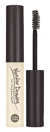 Holika Holika Фиксирующее покрытие для бровей Wonder Drawing 1s Fixing Brow Top Coat holika holika карандаш для бровей wonder drawing skinny eye brow 0 05 гр 4 тона 01 серо черный ash black 0 05 гр