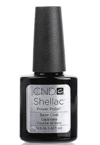 CND (Creative Nail Design) Базовое покрытие Shellac UV Base Coat, 12,5 мл cnd лосьон для рук и тела береза и мята cnd scentsations lotion birch and mint 14115 245 мл