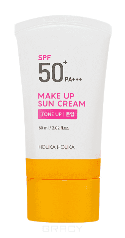 Holika Holika Солнцезащитная крем-база под макияж Мейкап Сан Make Up Sun Cream, 60 мл база под макияж holika holika holipop blur cream 30 мл
