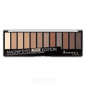 Rimmel Палетка теней Magnif'eyes, 7 гр (4 оттенка), тон 004 Colour, 7 гр too faced natural eyes палетка натуральных теней natural eyes палетка натуральных теней