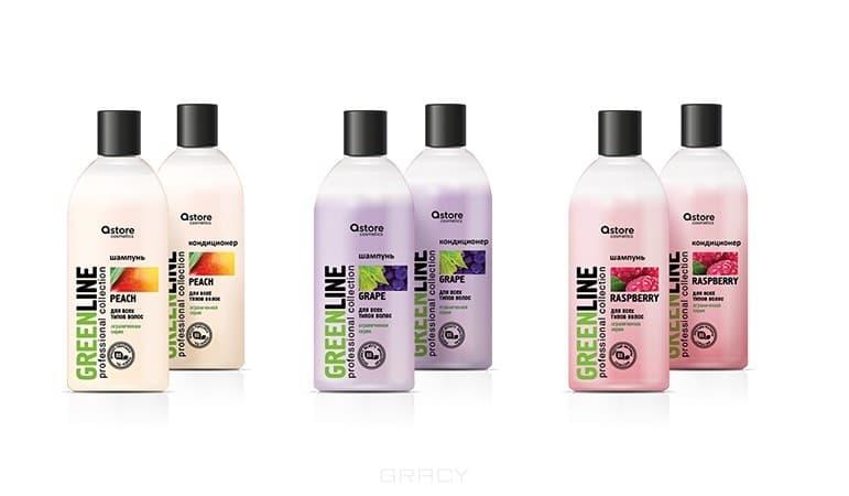 Astore Cosmetics Green Line Шампунь с экстрактом малины, 300 мл