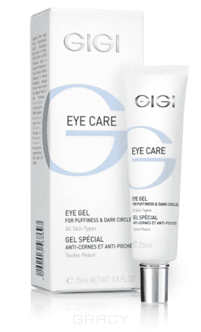 GiGi Гель от отеков и темных кругов для век Eye Care Gel, 25 мл