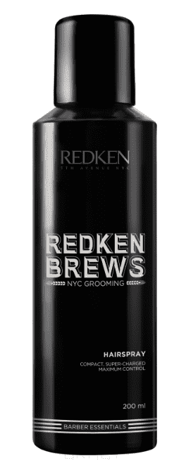 Redken Фиксирующий спрей Brews Hairspray, 200 мл