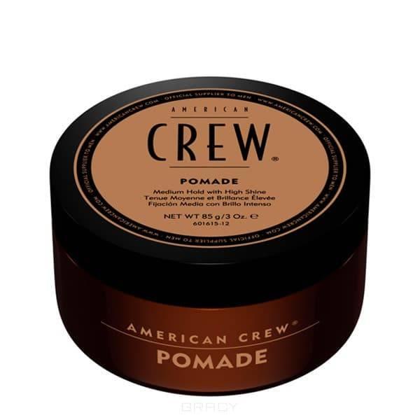 American Crew Помада для укладки волос Pomade, 85 мл, Помада для укладки волос Pomade, 85 мл, 85 мл american crew помада сильной фиксации crew heavy hold pomade 85 г