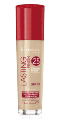 Rimmel Тональный крем Lasting Finish Comfort Found, 30 мл (4 оттенка), 30 мл, 103 True Ivory rimmel тональный крем lasting finish breathable 103 true ivory