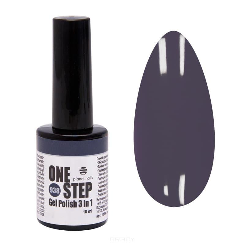Planet Nails, Гель-лак One Step, 10 мл (75 оттенков) Гель-лак One Step, 10 мл