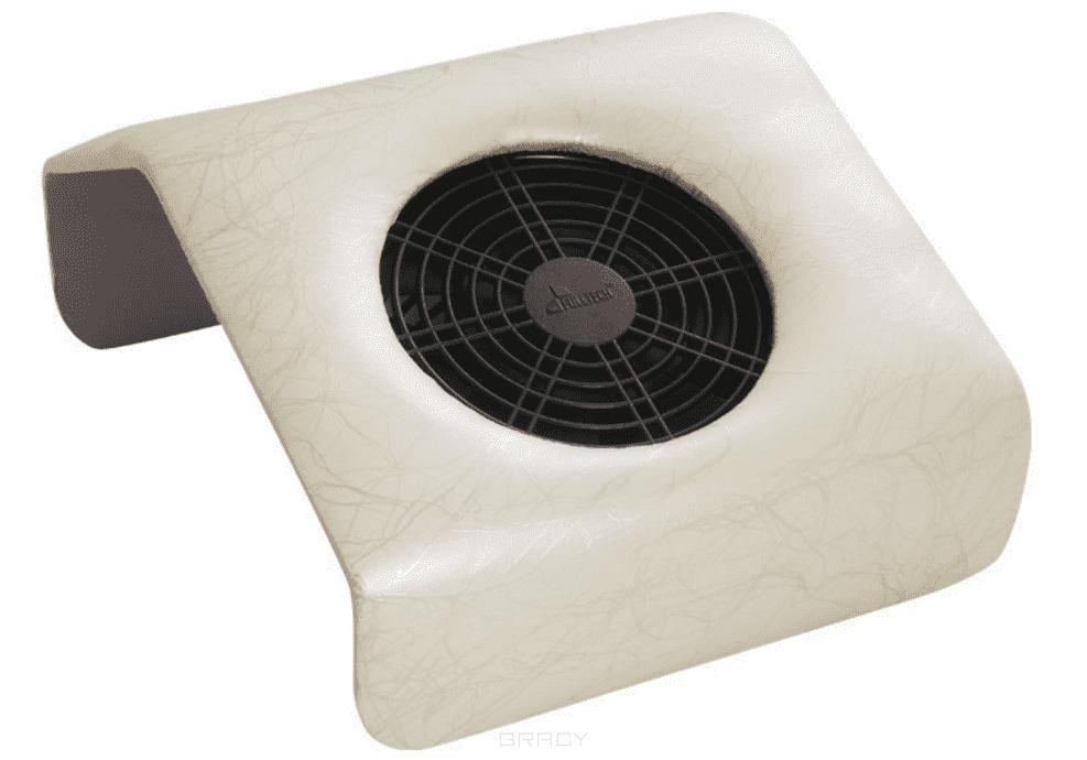Planet Nails, Мини подставка-пылесос для маникюра Молочно-белый