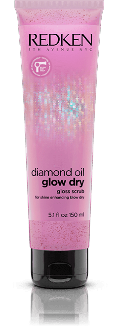 Redken, Скраб для кожи головы Diamond Oil Glow Dry Gloss Scrub, 150 мл