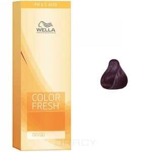 Wella, Оттеночная краска для волос Color Fresh Asid без аммиака, 75 мл (10 оттенков) 3/66 баклажан