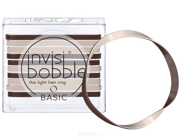 Invisibobble Резинка для волос BASIC Mocca & Cream кофейно-молочный, 10 шт резинки city flash резинка для волос