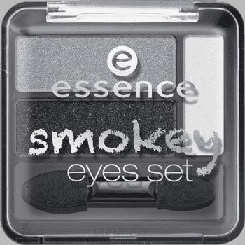 Essence Тени для век Smokey Eyes Set, 3.9 гр, Тени для век Smokey Eyes Set, 3.9 гр, т.02 Коричневые, 3.9 гр тени для век eyestudio smoky eyes 33 аметист