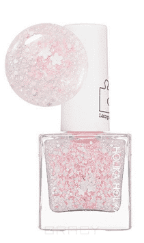 Holika  Лак для ногтей Пис Мэтчинг металлик Piece Matching Nails (SS-Sparkling), 10 мл (2 оттенка),  ,  светло-розовый PK10 Cherry Blossom