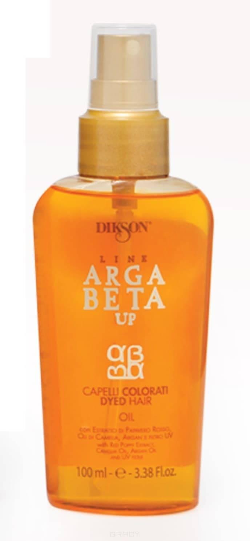 Dikson Масло для окрашенных и поврежденных волос ArgaBeta Up Olio Capelli Colorati, 100 мл dikson спрей для объема для тонких волос dikson argabeta up spray volumizzante capelli di volume 2478 150 мл