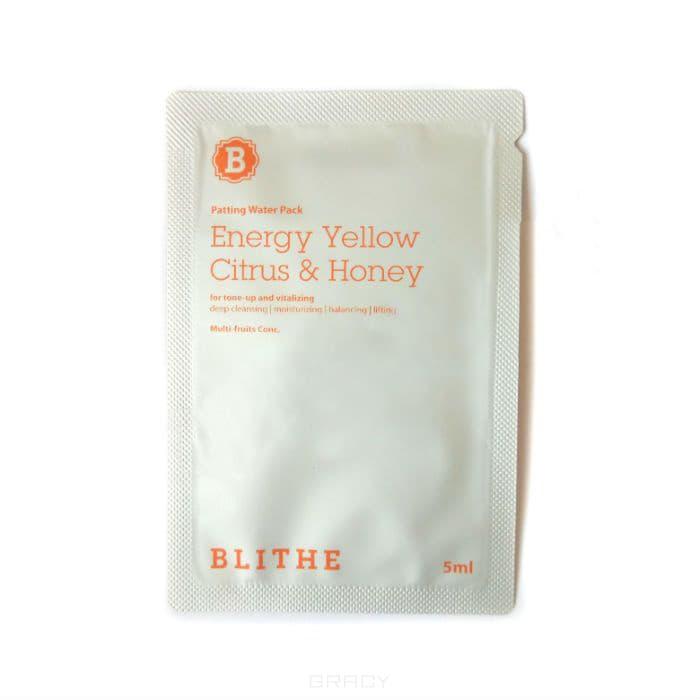 Blithe Сплэш-маска для сияния «Энергия цитрус и мед», sample, 5 мл blithe energy yellow citrus and honey сплэш маска для сияния энергия цитрус и мед 200 мл