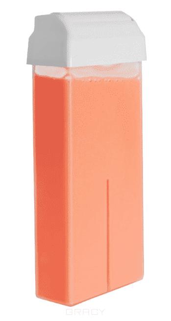 Planet Nails Воск в картридже розовый, 100 мл yoko воск для депиляции в картридже азулен 100 мл