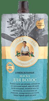 Рецепты бабушки Агафьи Маска для волос Семисильная Банька Агафьи, 100 мл