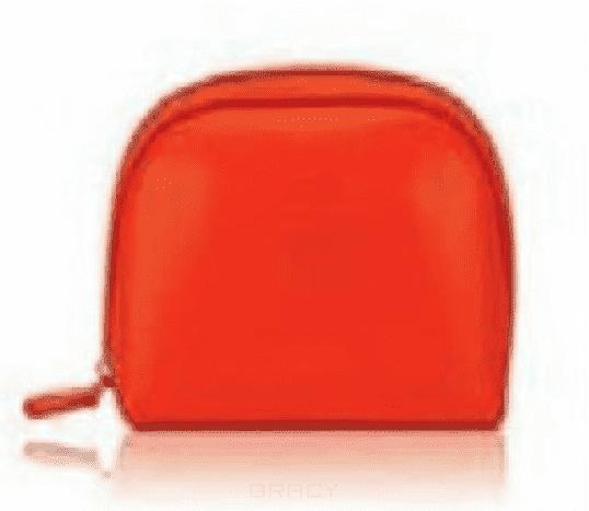 OLLIN Professional Косметичка оранжевая, 1 шт ollin professional зажимы бабочка 12 шт 2 вида зажимы бабочка 12 шт 2 вида 12 шт 55 мм