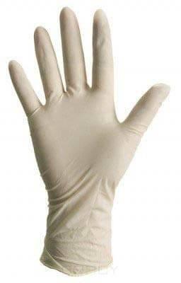 Benovy Перчатки латексные неопудренные, размер L, 100 шт./уп., 100 шт./уп. Размер: S подвес прямой masterprof 277х30х0 6мм уп 100 шт