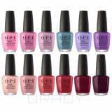 OPI Лак для ногтей Nail Lacquer Peru Collection 2018, 15 мл (12 цветов)