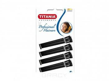 Titania Невидимки черные 20 шт., 8060/7 titania губки макияжные 1928 1 шт