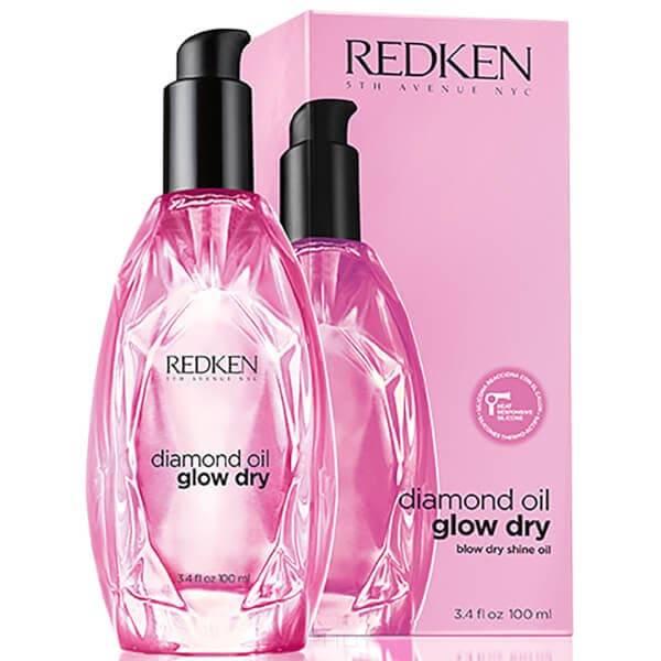 Redken Термозащитное масло Diamond Oil Glow Dry, 100 мл масляная плитка масло рукотворное клеона