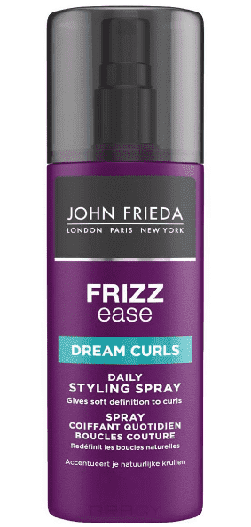 John Frieda, Спрей для создания идеальных локонов Frizz Ease Dream Curls, 200 мл