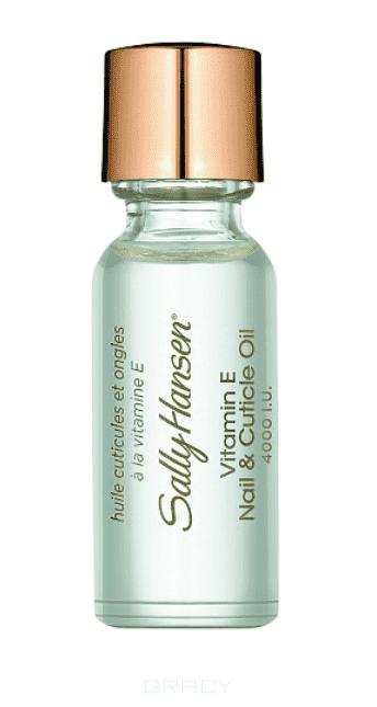 Sally Hansen Масло для ногтей и кутикулы с витамином E Vitamin E Nail & Cuticle Oil Nailcare, 13 мл уход за кутикулой sally hansen 18k gold cuticle eraser объем 6 8 мл