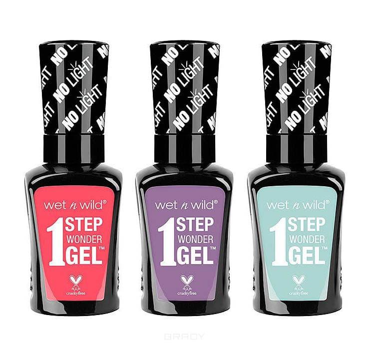Wet n Wild Гель-лак для ногтей 1 Step Wonder Gel, 13,5 мл (17 тонов), E7222 Missy in Pink, 13,5 мл robots in disguise 1 step changers