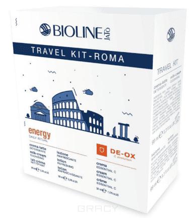 Bioline Дорожный набор для лица Рим TRAVEL KIT ROMA DAILY RITUAL, 99/99/30 мл bioline дорожный набор для возрастной кожи energy 30 99 99 мл