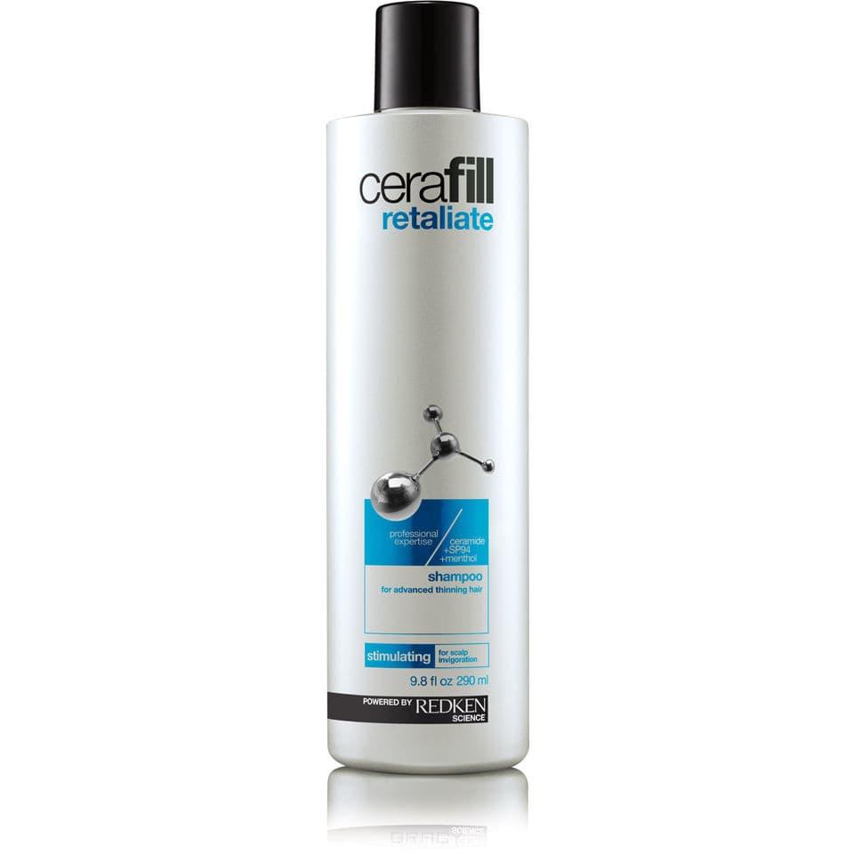 Redken Шампунь для поддержания плотности сильно истонченных волос Cerafill Retaliate Shampoo, 290 мл redken cerafill retaliate stemoxydine 5% ежедневный несмываемый уход