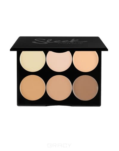 Sleek MakeUp Корректор кремовый Cream contour Kit Light, 12 гр cc крем для лица sleek makeup sleek makeup cc cream