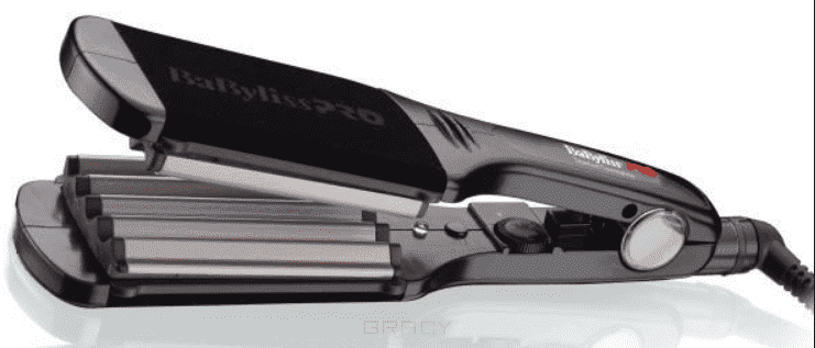 BabyLiss Pro Щипцы-гофре с покрытием EP Technology 5.0 BAB2512EPE/EPCE babyliss pro щипцы гофре для прикорневого объема с покрытием ep technology 5 0 15 мм bab2310epce
