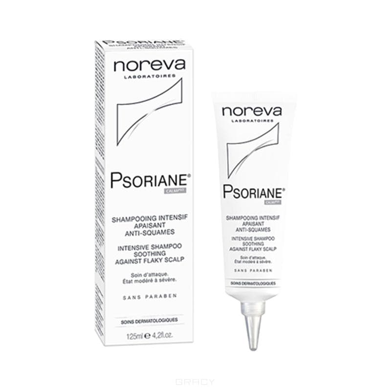 Noreva Интенсивный успокаивающий шампунь против перхоти Psoriane, 125 мл