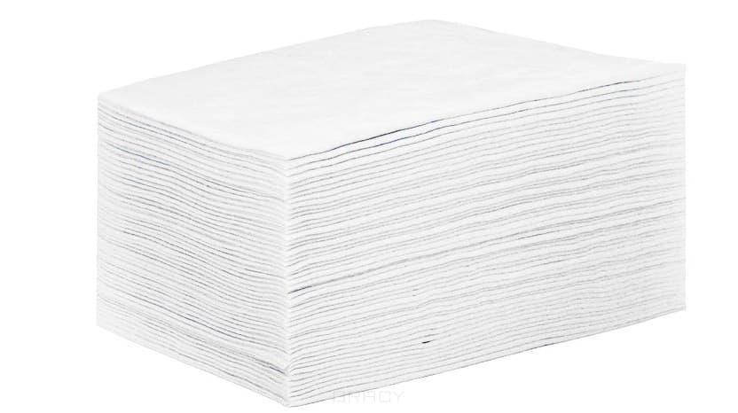 цены Igrobeauty Простыня 80 х 200 см, 25 г./м2 материал SMS, 50 шт (2 цвета), Белый, 50 шт