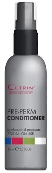 Cutrin Спрей-кондиционер для подготовки волос к химической завивке, 75 мл cutrin chooz root lifting finishing spray спрей финализатор для прикорневого объема 300 мл