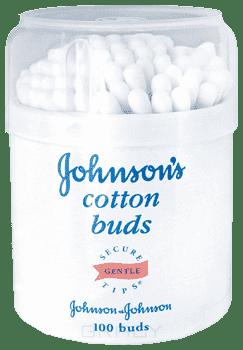 Johnsons Baby Ватные палочки для детей, 100 шт