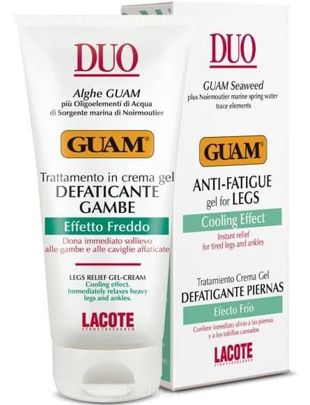 Guam Гель для ног против отёков с охлаждающим эффектом Duo, 75 мл