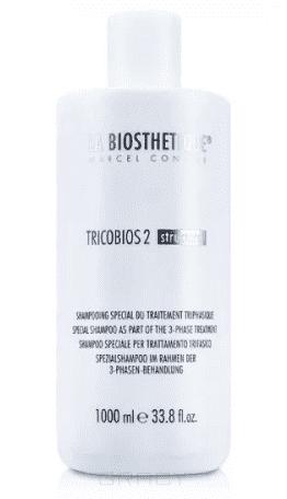 La Biosthetique Шампунь специальный Tricobios 2 Special Shampoo для удаления излишков Tricobios 1, 1 л